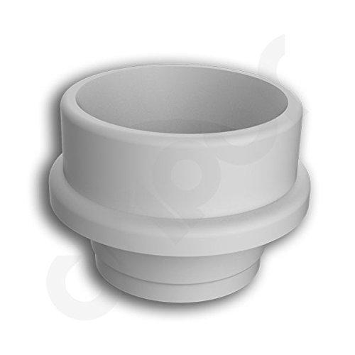 POM Drip Tip 510 Fitment Mouthpiece Derlin by Dripor White Regula Delrin