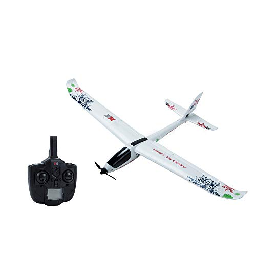 Wotryit WL XK-A800 EPO Fixed Wing 5CH Glider Wingspan 780mm Remote Control Airplane,Modularized Design, Easy to Install and Disassemble.