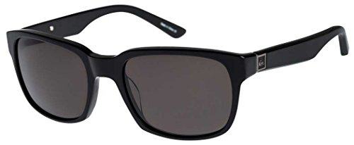 Quiksilver Carpark Sunglasses - Shiny Black/Grey from Quiksilver