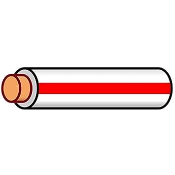 Amazon.com: K4 Auto & Marine Primary Electrical Wire White W/Red ...