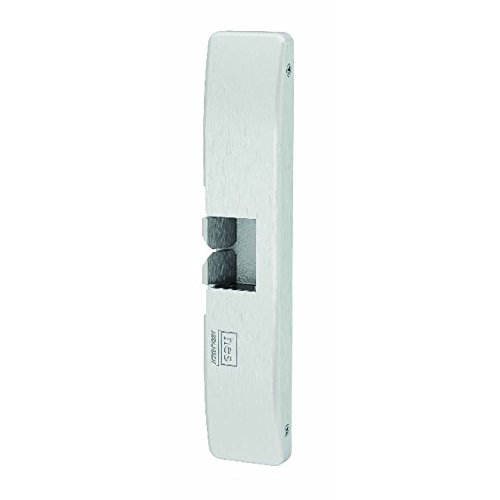 Satin Stainless HES 10750407 Electric Strike 9400 Series Grade 1 Slim-Line Latchbolt Mount Surface Mounted