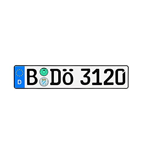 German License Plates