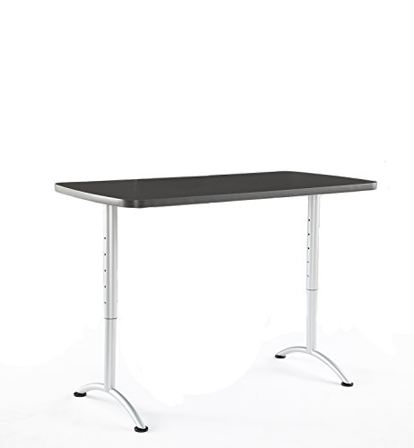 (Iceberg ICE69317 ARC 5-foot Adjustable Height Rectangular Conference Table, 30