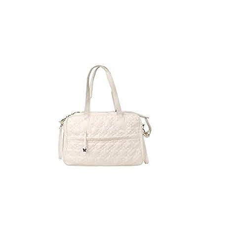 Tuc Tuc Coulant - Bolsa maternidad de polipiel, color blanco: Amazon.es: Bebé