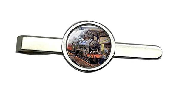Giftshop UK Steam Tren Corbata Clip: Amazon.es: Joyería
