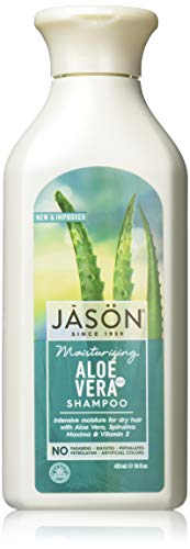 Moisturizing 84% Aloe Vera Shampoo Jason Natural Cosmetics 16 oz Liquid