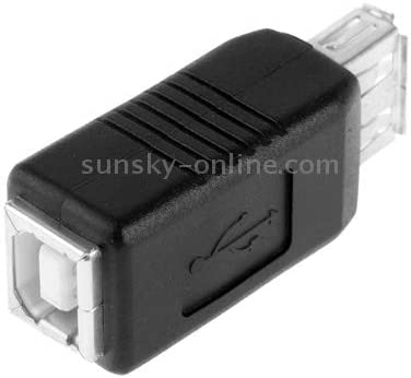 ZQ House USB 2.0 AF to BF Printer Adapter Converter Durable