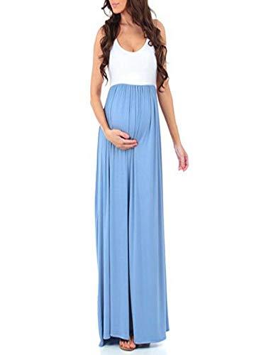 YiYLunneo Vestidos De Embarazadas para Fotos Pijama Conjunto Camiseta y Embarazo Lactancia Maternidad Vestido de Cama Mujer Camisetas Maternidad: Amazon.es: ...
