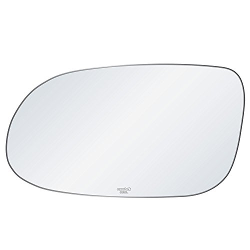 Mercedes Benz CLK SL SLK AMG Driver Side View Mirror Auto Glass Replacement Kit With Adhesive Pad By Rugged TUFF ()