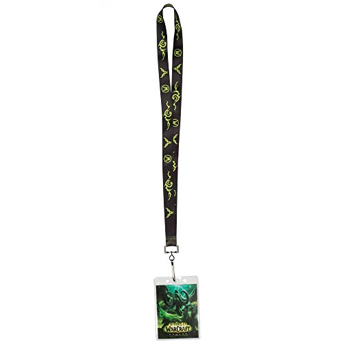 JINX World of Warcraft: Legion Lanyard with ID Holder