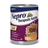 Nepro Butter Pecan Nutritional Supplement, with Carb Steady, 8 Ounce Cans, 24 Per Case *Special Pack of 2 Cases*