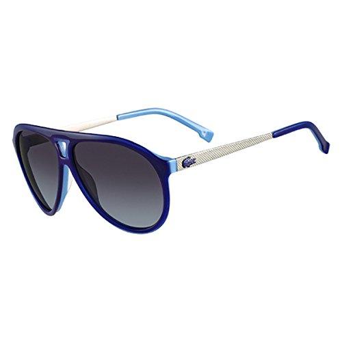 81863badf62e Lacoste Sunglasses L694S 424 Blue  Amazon.in  Clothing   Accessories