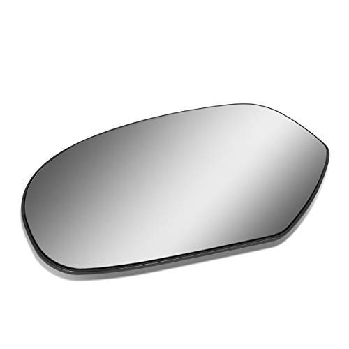 Driver/Left Side Door Rear View Mirror Glass Lens Replacement for 2007-2014 Chevy Escalade/Silverado/GMC ()