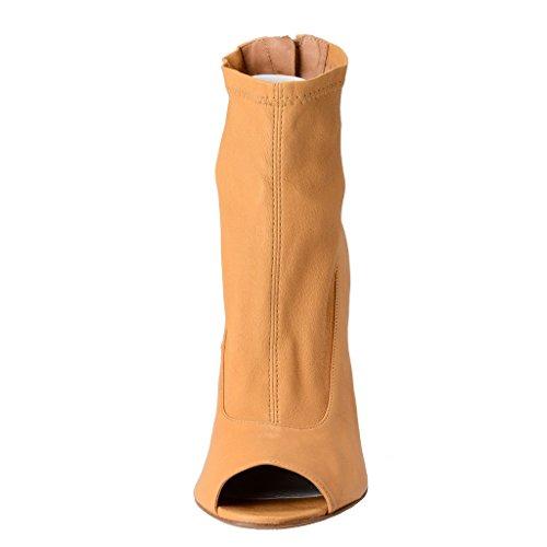 Beige Boots Margiela Ankle 22 Shoes Leather Maison wBzAYq