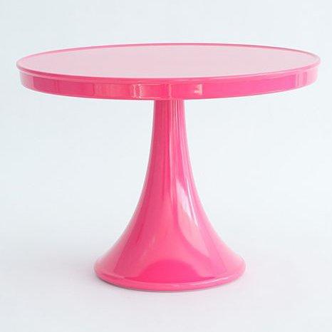 (Glitterville Melamine Cake Stand Hot Pink)