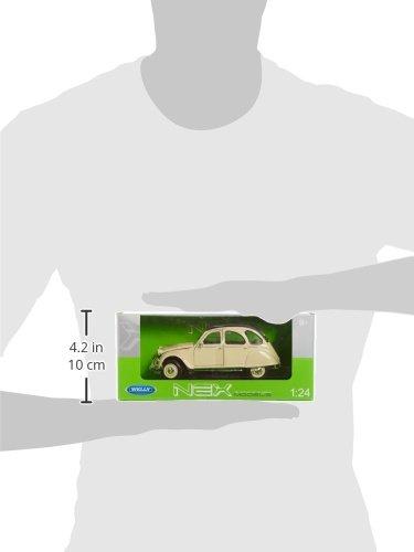 Citroën 2cv à l'échelle 1/24