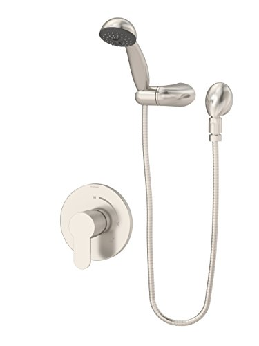 (Symmons 6703-1.5-TRM-STN Identity Single Handle 1-Spray Hand Shower Trim in Satin Nickel - 1.5 GPM (Valve Not Included))