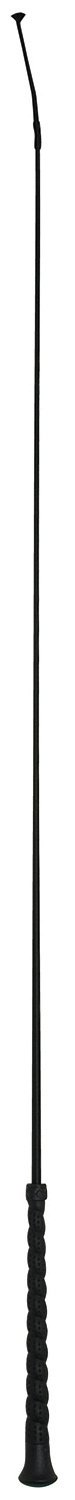 Perri's Dressage Whip with Wrapped Rubber Handl, Black, 39-Inch Perri' s W600BL39