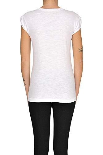 Donna shirt Cotone T Bianco Happiness Mcgltps000005115e qx6pwSCEU