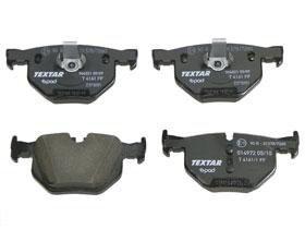 BMW e60 e61 Brake Pad Set Rear CERAMIC Textar friction linings