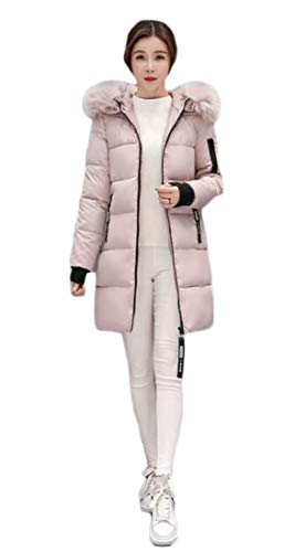 up Coats 3 Outwear Puffer Zipper EKU Jacket Women's Thickened Down twSq6qpxA