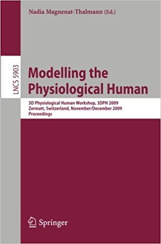 Modelling the Physiological Human: Second 3D Physiological