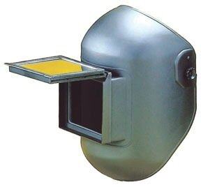 Firepower 1441-0004 Eclipse Lift/Fixed Front Combo Welding Helmet, Black