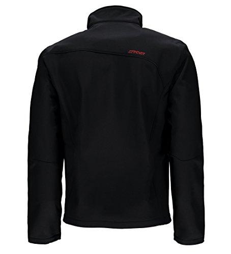 nbsp;� Red Spyder Softshell tejido Hombre nbsp;chaqueta Para Black racing A8Xd8q