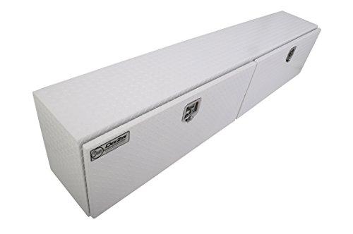 C1500 Pickup Tread - Dee Zee DZ71WH White-Tread Aluminum Topsider Tool Box - 90