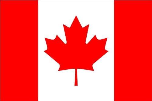 Durabol Bandera de Canada 150*90 cm Canada Satén Flag+Regalo una pegatina: Amazon.es: Deportes y aire libre