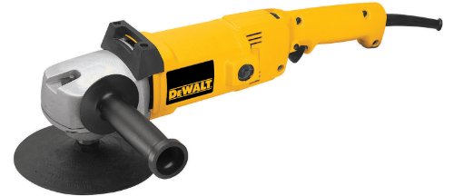 DEWALT DW849 8 Amp 7-Inch/9-Inch Electronic Variable-Speed Right-Angle Polisher
