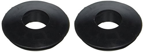 RoadPro RP-3601 Black Double Lip Gladhand Seal, (Pack of (Gladhand Seals)