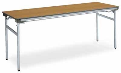 コクヨ 会議用テーブル KT-140シリーズ 脚折りたたみ式 会議用テーブル 棚付き 幅1800×奥行き450×高さ700mm カラー:P1F(ローズウッド) B00AT81C6EP1F(ローズウッド)