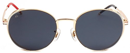 "PRIVÉ REVAUX ICON Collection ""The Riviera"" Handcrafted Designer Round Sunglasses - Sun Channel Glasses"