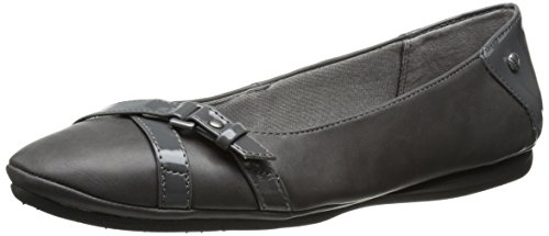LifeStride Women's Addy Ballet Flat Dark Grey