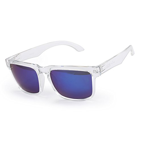 ODODOS - Vintage Style Polarized Revo Color Wayfarer Sunglasses - UV400 - Sunglasses Style Goggle