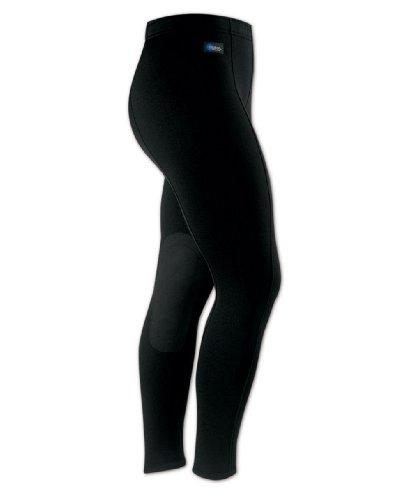 (Irideon Power Stretch Breeches, Black, Large)