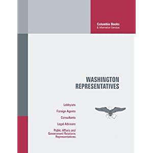 Washington Representatives: Spring 2012 Columbia Books, Duncan J. Bell, Kathleen Anders and David Epstein