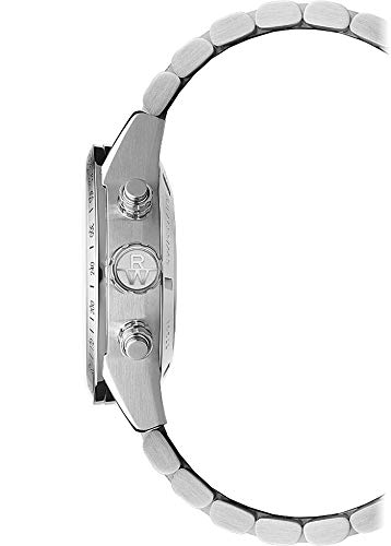 Raymond Weil Men's Freelancer Swiss-Automatic Watch with Stainless-Steel Strap, Silver, 22 (Model: 7731-ST-20021)