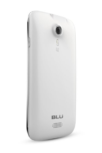 "BLU Studio 5.0 D530 Unlocked GSM Phone with Android 4.1 OS, Dual SIM, Dual-Core Processor, 5.0"" LCD Touchscreen, 5MP Camera + Secondary VGA Camera, Video, Wi-Fi, Bluetooth and microSD Slot - White"