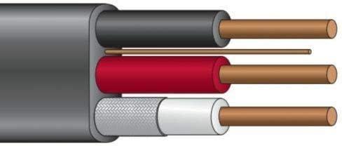125/' 8//2 UF-B Copper Underground Feeder Cable w//ground Direct Burial Wire