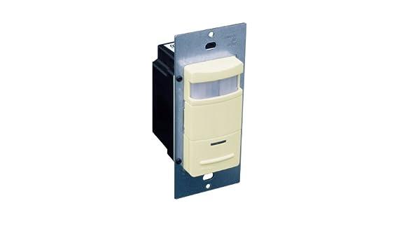 Leviton Decora pasivo por infrarrojos interruptor de pared Sensor de ocupación, 180 grados, 2100 pies cuadrados cobertura: Amazon.es: Bricolaje y ...