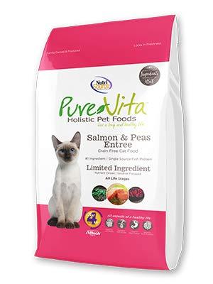TUFFY'S PET Food 131744 Pure Vita Grain Free Salmon Cat Food 15-Pound