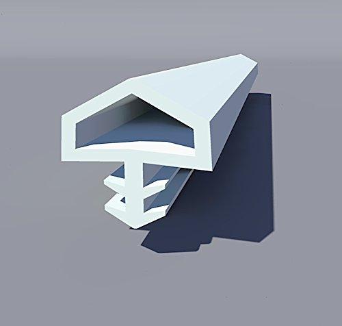 Gummidichtung Dichtungen aus Gummi T/ür Fenster Profildichtung Universal Dichtband Holzzargendichtung Fl/ügelfalzdichtung Dichtungsprofil 10 Meter braun