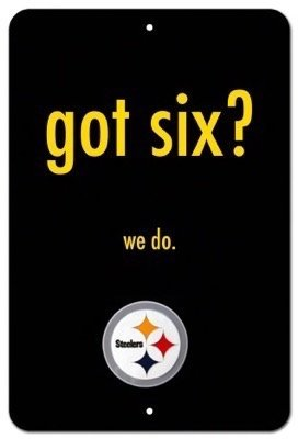 (Pittsburgh Steelers NFL 06 Metal 8x12 Poster imPrint)