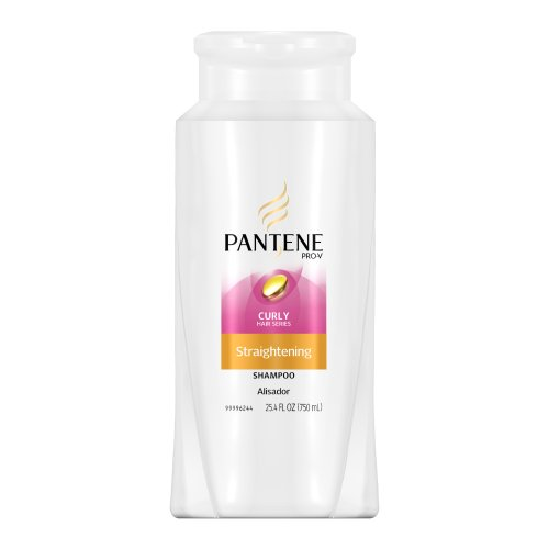 Pantene Pro-v Curly Hair Series Straightening Shampoo, 25.4 Ounce