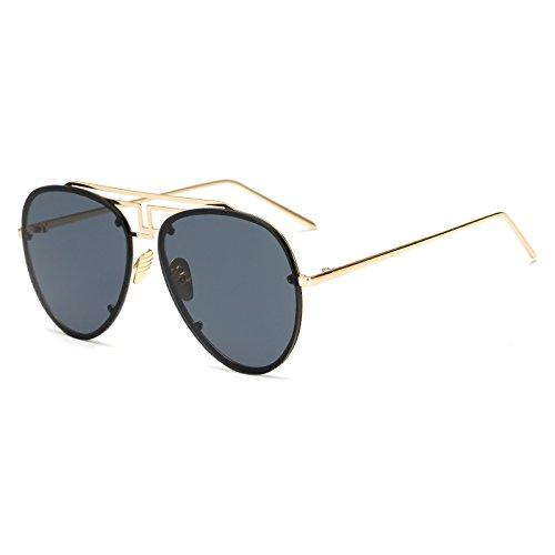 Sunglasses C2 piloto sin Tinte Moda Verano los llanta de Hombres Tendencia AM3470 AM3470 Gafas Amarillo Mujer Lente TL Las de C8 de Océano Gafas Gafas Sol para de Mujeres fd0wPfq