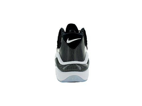 Nike Mens Air Zoom Flight 96 Scarpe Da Basket Nero / Bianco