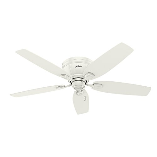 Hunter 53378 Kenbridge 52'' Ceiling Fan with Light, Large, Fresh White by Hunter Fan Company (Image #2)