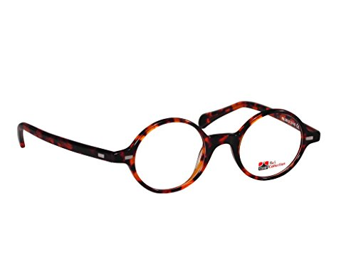 ES309 (Tortoise, 43) - Rimless Tortoise Shell Semi Eyeglasses